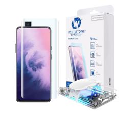 Folia/szkło na smartfon Whitestone Szkło Hartowane Dome Glass + UV do OnePlus 7 Pro