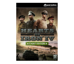 Gra na PC Paradox Interactive Hearts of Iron IV (Cadet Edition) - CUT ESD Steam