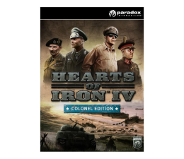 Gra na PC Paradox Interactive Hearts of Iron IV (Colonel Edition) Cut ESD Steam