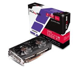 Karta graficzna AMD Sapphire  Radeon RX 5500 XT PULSE 4GB GDDR6