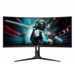 "Monitor LED 32"" i większy AOC CU34G2X Curved"