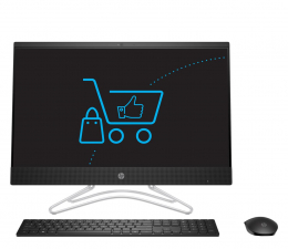 All-in-One HP 24 AiO i3-9100T/16GB/960 IPS Black