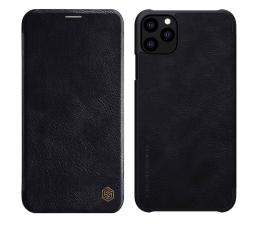 Etui / obudowa na smartfona Nillkin Etui Skórzane Qin do iPhone 11 Pro Max czarny