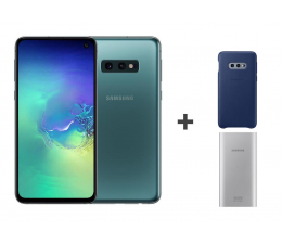 Smartfon / Telefon Samsung Galaxy S10e G970F Prism Green + ZESTAW