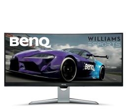 "Monitor LED 32"" i większy BenQ EX3501R Curved srebrno-czarny"