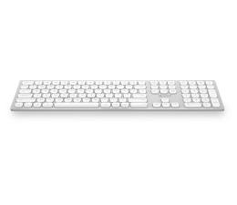 Klawiatura bezprzewodowa x-kom Aluminium Wireless Keyboard (Srebrna)