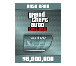 Gra na PC PC GTA V Megalodon Shark Cash Card Social Club