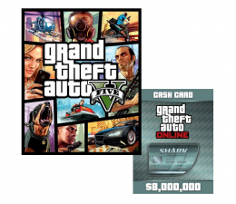 Gra na PC PC GTA V + Megalodon Shark Cash Card Social Club