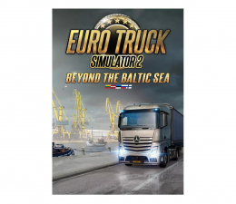 Gra na PC PC Euro Truck Simulator 2 - Beyond the Baltic Sea ESD