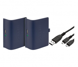 Akcesorium do pada Venom XBO Twin Pack + 2 metrowy kabel - blue