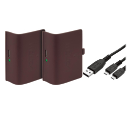 Akcesorium do pada Venom XBO Twin Battery Pack + 2 metrowy kabel - red