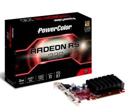 Karta graficzna AMD PowerColor Radeon R5 230 2GB DDR3