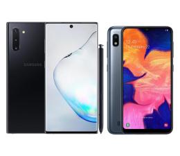 Smartfon / Telefon Samsung Galaxy Note 10 N970F Aura Black + Galaxy A10