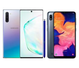 Smartfon / Telefon Samsung Galaxy Note 10 N970F Aura Glow + Galaxy A10