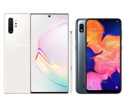 Smartfon / Telefon Samsung Galaxy Note 10+ N975F Aura White + Galaxy A10