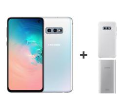 Smartfon / Telefon Samsung Galaxy S10e G970F Prism White + ZESTAW