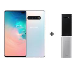 Smartfon / Telefon Samsung Galaxy S10+ G975F Prism White + ZESTAW