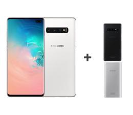 Smartfon / Telefon Samsung Galaxy S10+ G975F Ceramic White 1TB + ZESTAW