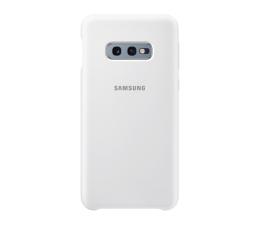 Etui/obudowa na smartfona Samsung Silicone Cover do Galaxy S10e biały