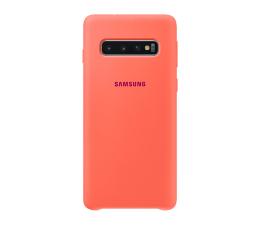 Etui/obudowa na smartfona Samsung Silicone Cover do Galaxy S10 różowy