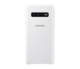 Etui/obudowa na smartfona Samsung Silicone Cover do Galaxy S10 biały