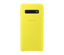 Etui/obudowa na smartfona Samsung Silicone Cover do Galaxy S10 żólty