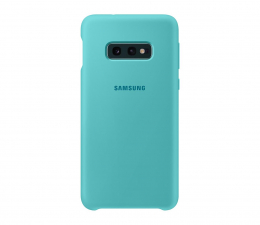 Etui/obudowa na smartfona Samsung Silicone Cover do Galaxy S10e zielony