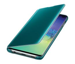 Etui/obudowa na smartfona Samsung Clear View Cover do Galaxy S10 zielony
