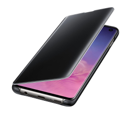 Etui/obudowa na smartfona Samsung Clear View Cover do Galaxy S10 czarny