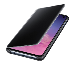 Etui/obudowa na smartfona Samsung Clear View Cover do Galaxy S10e czarny