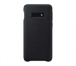 Etui/obudowa na smartfona Samsung  Leather Cover do Galaxy S10e czarny