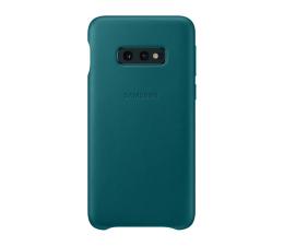 Etui/obudowa na smartfona Samsung Leather Cover do Galaxy S10e zielony