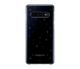 Etui/obudowa na smartfona Samsung LED Cover do Galaxy S10 czarny