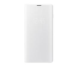 Etui/obudowa na smartfona Samsung LED View Cover do Galaxy S10+ biały