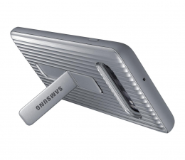 Etui/obudowa na smartfona Samsung Protective Standing Cover Galaxy S10+ srebrny