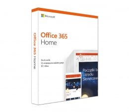 Program biurowy Microsoft Office 365 Home | zakup z komputerem