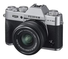 Bezlusterkowiec Fujifilm X-T30 + 15-45mm srebrny