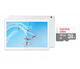 "Tablet 10"" Lenovo TAB M10 450/2GB/32GB/Android Oreo LTE Biały"