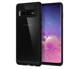 Etui / obudowa na smartfona Spigen Ultra Hybrid do Samsung Galaxy S10 Matte Black
