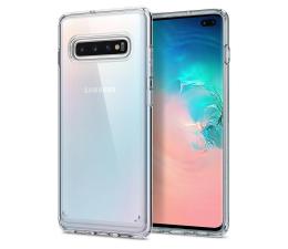 Etui/obudowa na smartfona Spigen Ultra Hybrid do Galaxy S10+ Crystal Clear