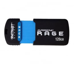 Pendrive (pamięć USB) Patriot 128GB SuperSonic RAGE 180MB/50MB (oczyt/zapis)
