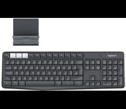 Klawiatura bezprzewodowa Logitech K375s Multi-Device (Unifying, Bluetooth Smart)