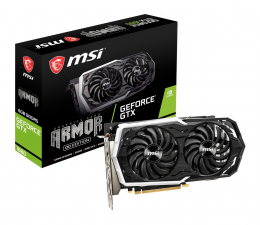 Karta graficzna NVIDIA MSI GeForce GTX 1660 Armor OC 6GB GDDR5