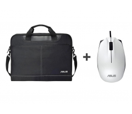 "Torba na laptopa ASUS Nereus Carry Bag 16"" + UT280 biały"