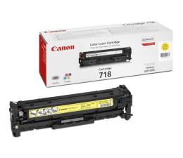 Toner do drukarki Canon CRG-718Y yellow 2900str.