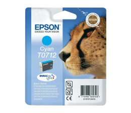 Tusz do drukarki Epson T0712 cyan 5,5ml