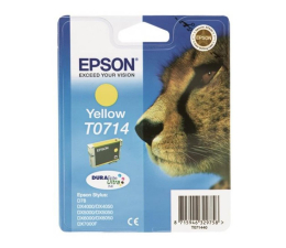 Tusz do drukarki Epson T0714 yellow 5,5ml