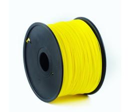 Filament do drukarki 3D Gembird ABS Fluorescent Yellow 1kg