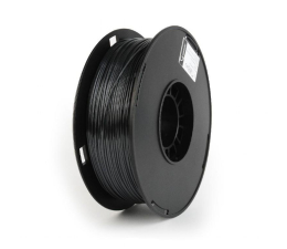 Filament do drukarki 3D Gembird Polymer Glossy Silk Black 1kg