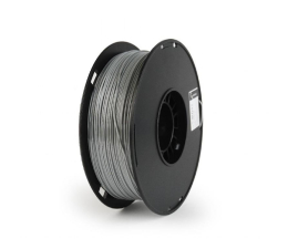 Filament do drukarki 3D Gembird Polymer Glossy Silk Grey 1kg